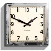 Newgate Clocks Chrome Quad wall Clock (18986)