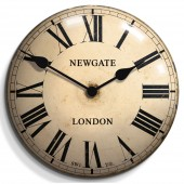 Newgate Clocks Chelsea Tin Wall Clock (18989)
