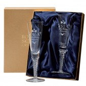 Set of Air Twist Champagne Flutes (19207)