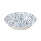 Churchill & Queens China 24cm Salad/Serving Bowl Circle Print (19340)