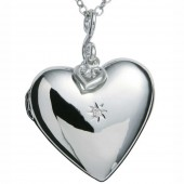 Just Add Love Starry Heart Pendant (19929)