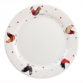 Rooster Queens China Alex Clark Rooster 26cm Dinner Plate (20259)