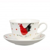 Rooster Alex Clark Rooster Teacup and Saucer (20266)
