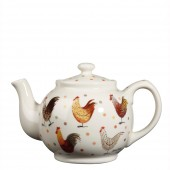 Churchill & Queens China Alex Clark Rooster Stanley Teapot (20276)