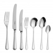 Bead - 25 Year Silver Plate Bead - 7 Piece Place Setting (20385)