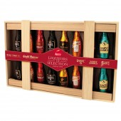 Wooden Box Liqueur Selection Bottles (20448)