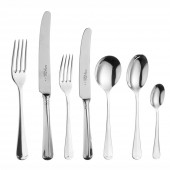 Rattail - 25 Year Silver Plate Rattail - 7 Piece Place Setting (20492)