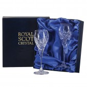 Royal Scot Box of 2 New Port Glasses (20623)