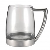 Pewter and Glass Tankard (20672)