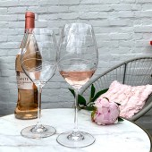 Diamante Set of 2 Large Wine Glasses (20913)
