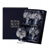 Royal Scot Set of 4 Brandy Glasses (21045)