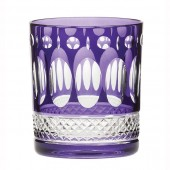 Belgravia Set of 2 Amethyst Purple Large Tumblers (21100)