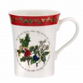 Portmeirion Red Border Manadrin Mug (21158)