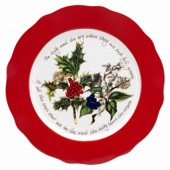 Portmeirion Red Border Charger Plate -33cm (21160)