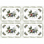 Holly And Ivy Tablemats - Set of 4 (21163)