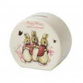 Border Fine Arts Flopsy Mopsy Cotton Tail Money Bank (21239)