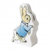 Border Fine Arts Peter Rabbit Running Money Bank (21244)