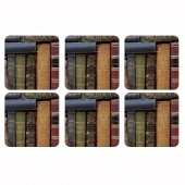 Pimpernel Archive Books Coasters Set of 6 (21274)