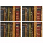 Pimpernel Archive Books Tablemats Set of 4 (21286)