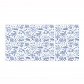 Botanic Blue Placemats - Set of 6 (21414)