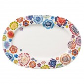 Anmut Bloom Oval Platter (21478)