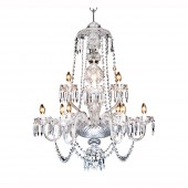 Heritage Irish Crystal Beaufort Chandelier - 9 Arm (21737)