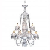 Heritage Irish Crystal Muckross Chandelier - 12 Arm (21738)