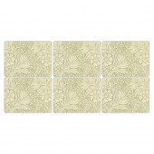 William Morris Marigold Green Placemats - Set of 6 (21773)