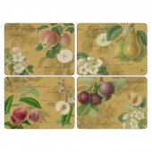 Pimpernel Gold Tablemats - Set of 4 (21817)