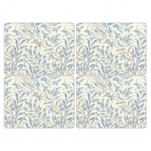 Pimpernel Willow Bough Blue Tablemats Set of 4 (22005)