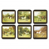 Animal Tally Ho Coasters Set of 6 (22011)