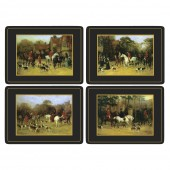 Animal Tally Ho Tablemats Set of 4 (22012)
