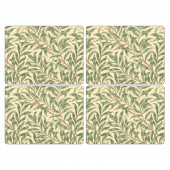 Pimpernel Willow Bough Green Tablemats Set of 4 (22015)