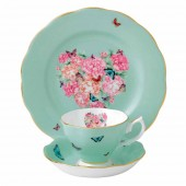 Teacup, Saucer and Plate - Blessings (22026)