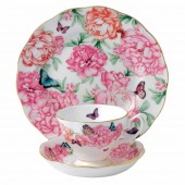 Teacup, Saucer and Plate - Gratitude (22028)