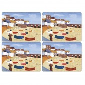 Pimpernel St Ives Windbreak Tablemats - Set of 4 (22069)