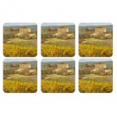 Pimpernel Tuscany Coasters Set of 6 (22071)