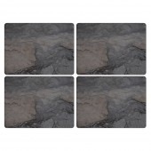 Pimpernel Midnight Slate Effect Tablemats Set of 4 (22116)