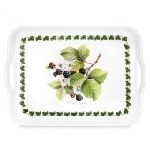 Pimpernel Wild Blackberry Handled Serving Tray (22135)