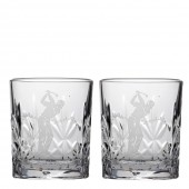 Golfer Tot Glasses - Set of 2 (22179)