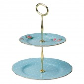 Royal Albert Vintage 2 Tier Cake Stand (22185)