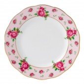 New Country Roses Pink Vintage Tea Plate (22211)
