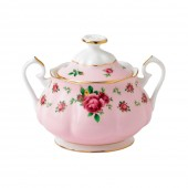 New Country Roses Pink Vintage Sugar Box (22226)