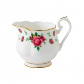 New Country Roses White Vintage Cream Jug (22230)