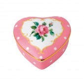 Heart Shaped Trinket Box (22256)