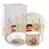 Churchill & Queens China Melamine Set - 3 Piece (22412)