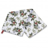 Holly And Ivy Tea Towel (22639)