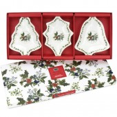 Portmeirion Christmas Dishes - Set of 3 (22646)