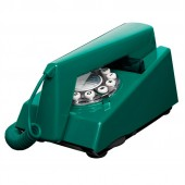 Wild and Wolf 1970s Peacock Green Trim Phone (22733)