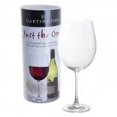 Just the One Very Large Full Bottle Wine Glass (22818)